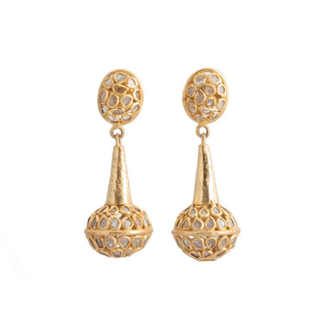 Mosaic Diamond Earring