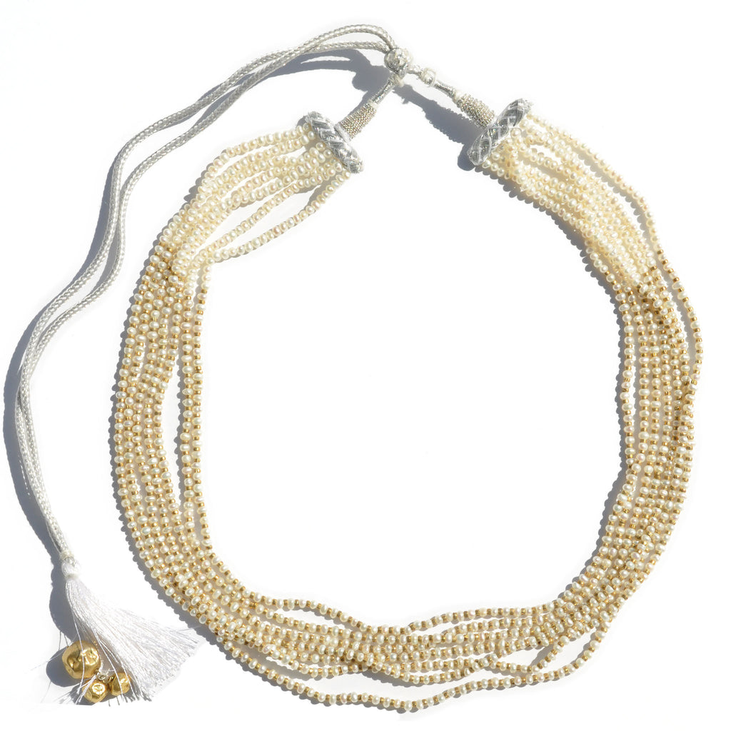 Pearl Multi Strand Necklace