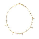 Shaker Diamond Anklet