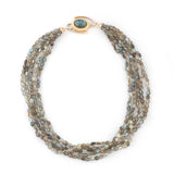 Labradorite 5 Strand Necklace