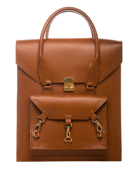 Medium Pelham Bag: Brown