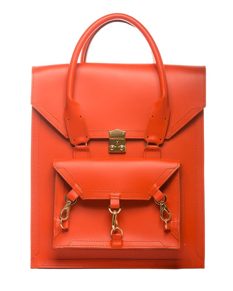 Medium Pelham Bag: Orange