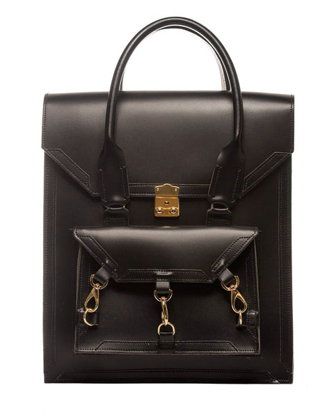 Medium Pelham Bag: Black