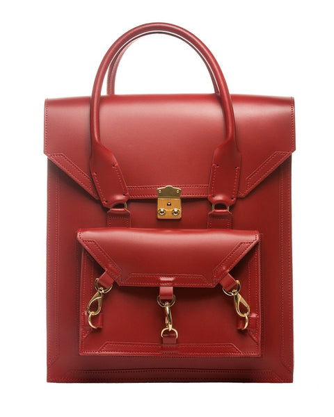 Medium Pelham Bag: Red