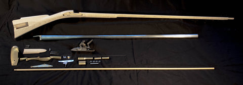 Colonial American Longrifle Kit