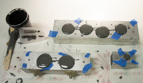 Pouring Epoxy in Aluminum Molds