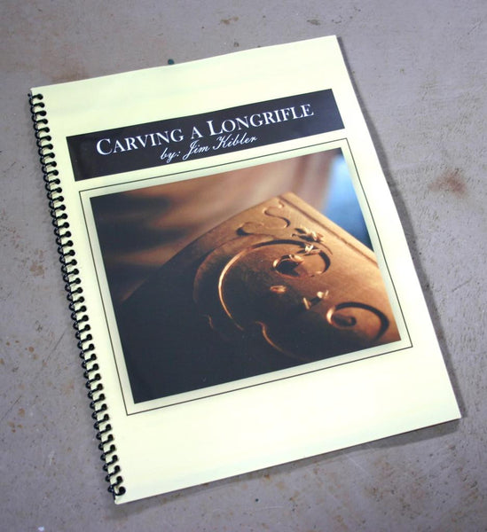 Carving a Longrifle Booklet by Jim Kibler