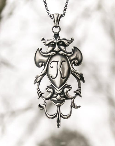 John Cookson Jim Kibler Silver Pendant Necklace