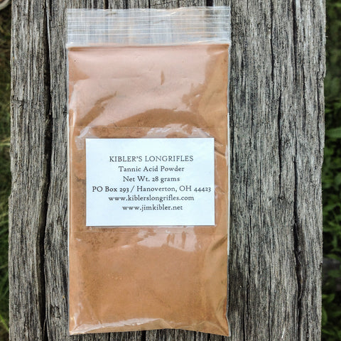 Tannic Acid Powder 28 grams Kibler's Longrifles
