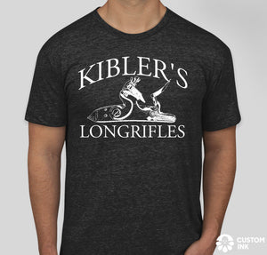 Short Sleeve Kibler's Longrifles Lock T-Shirt
