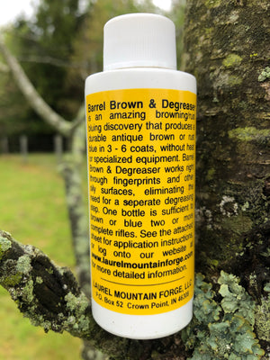 Laurel Mountain Forge Barrel Brown and Degreaser 2-1/2 oz Liquid