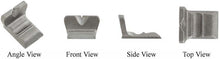 "Colonial Kit Option Rear sight, Tall Pennsylvania style for 15/16"" or 1"" octagon barrels, wax cast steel"
