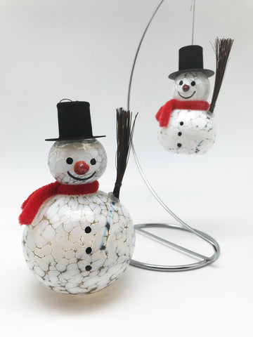 Mr. Snowman Christmas Ornament