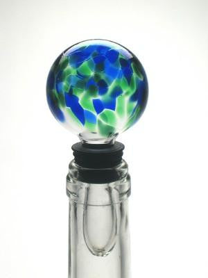 Blue Green Mix Bottle Stopper