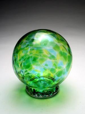 Jade Wishing Ball and Gratitude Globe Green