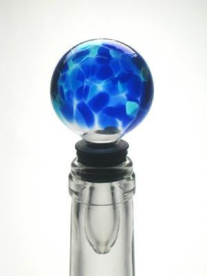 True Blue Bottle Stopper