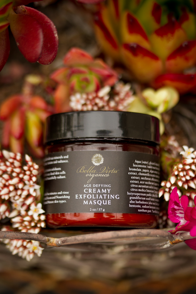 Creamy Exfoliating Masque with Sea Minerals & Enzymes