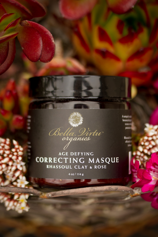 Correcting Masque With Rhassoul Clay & Rose