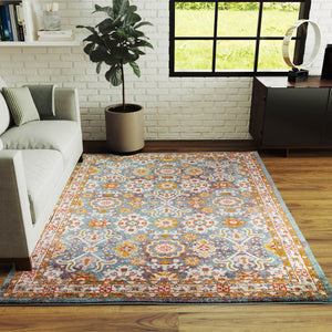 Taylors Traditional Agra Rug in Teal