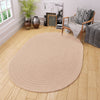 Maui Braided Rug in Beige