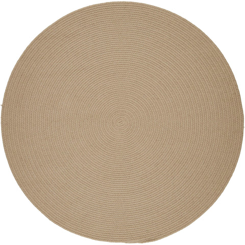 Maui Braided Area Rug in Beige