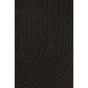 Maui Braided Rug in Black