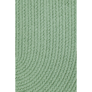 Maui Braided Rug in Celadon Green