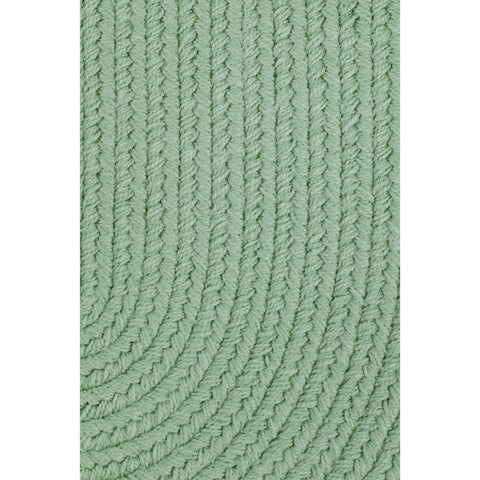 Maui Braided Area Rug in Celadon Green