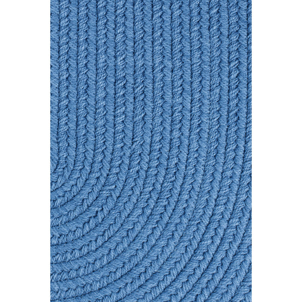 Maui Indoor / Outdoor Braided Area Rug in French Blue-Braided Rug-Super Area Rugs