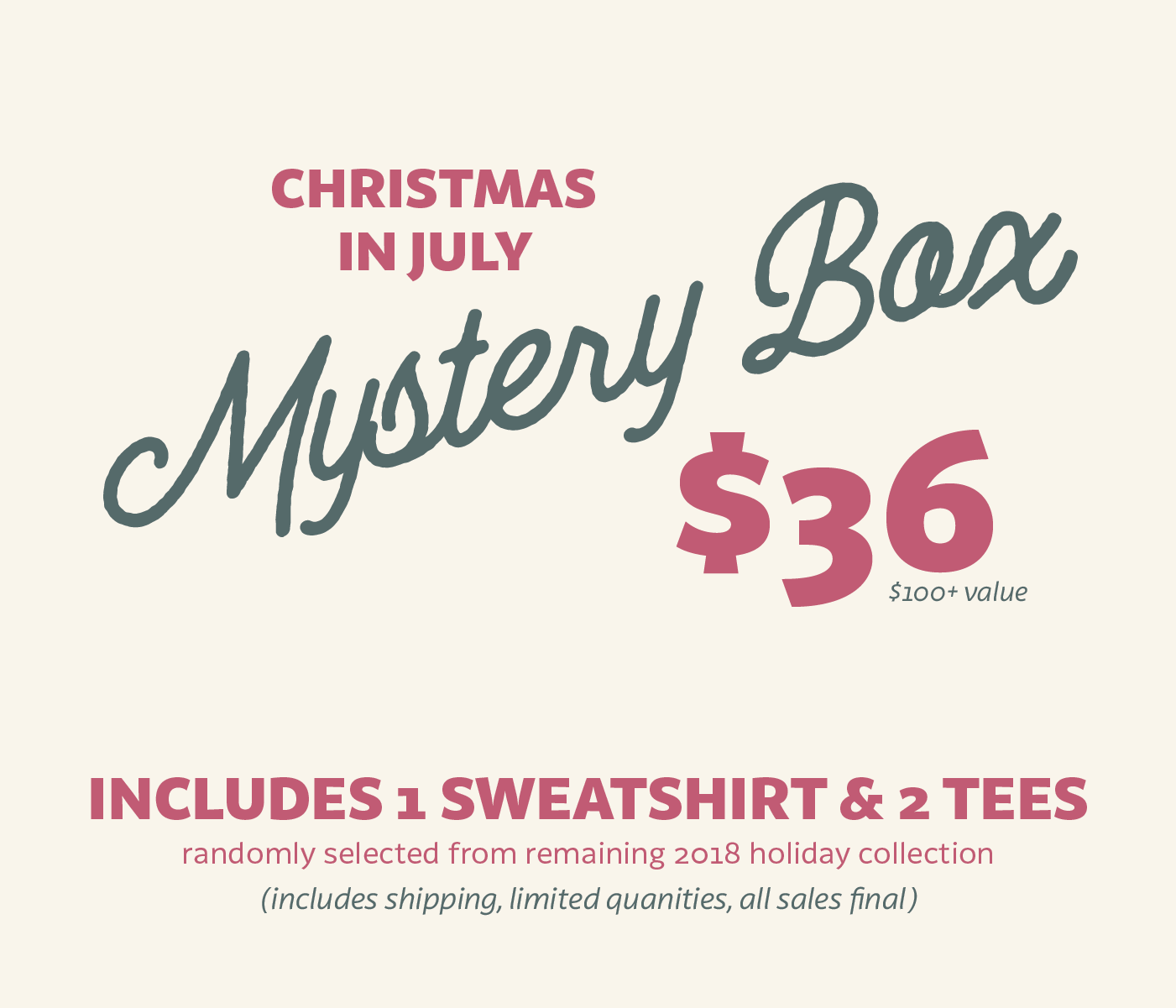 Christmas In July Mystery Box