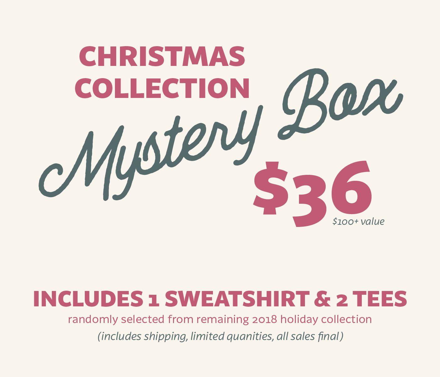 Christmas Collection Mystery Box