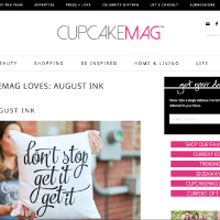 cupcakeMAG Loves August Ink | cupcakeMAG Feature