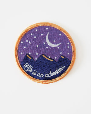 Night Adventures Iron On Patch Patches August Ink