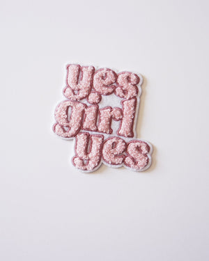 Yes Girl Patch Patches August Ink