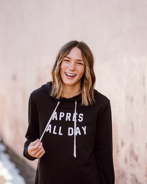 Après All Day Hoodie womens August Ink