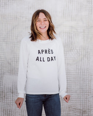 Après All Day Pullover womens August Ink