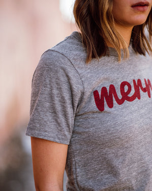 Merry Tee womens August Ink