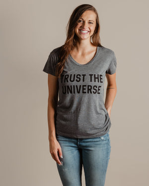 Trust The Universe Tee womens August Ink