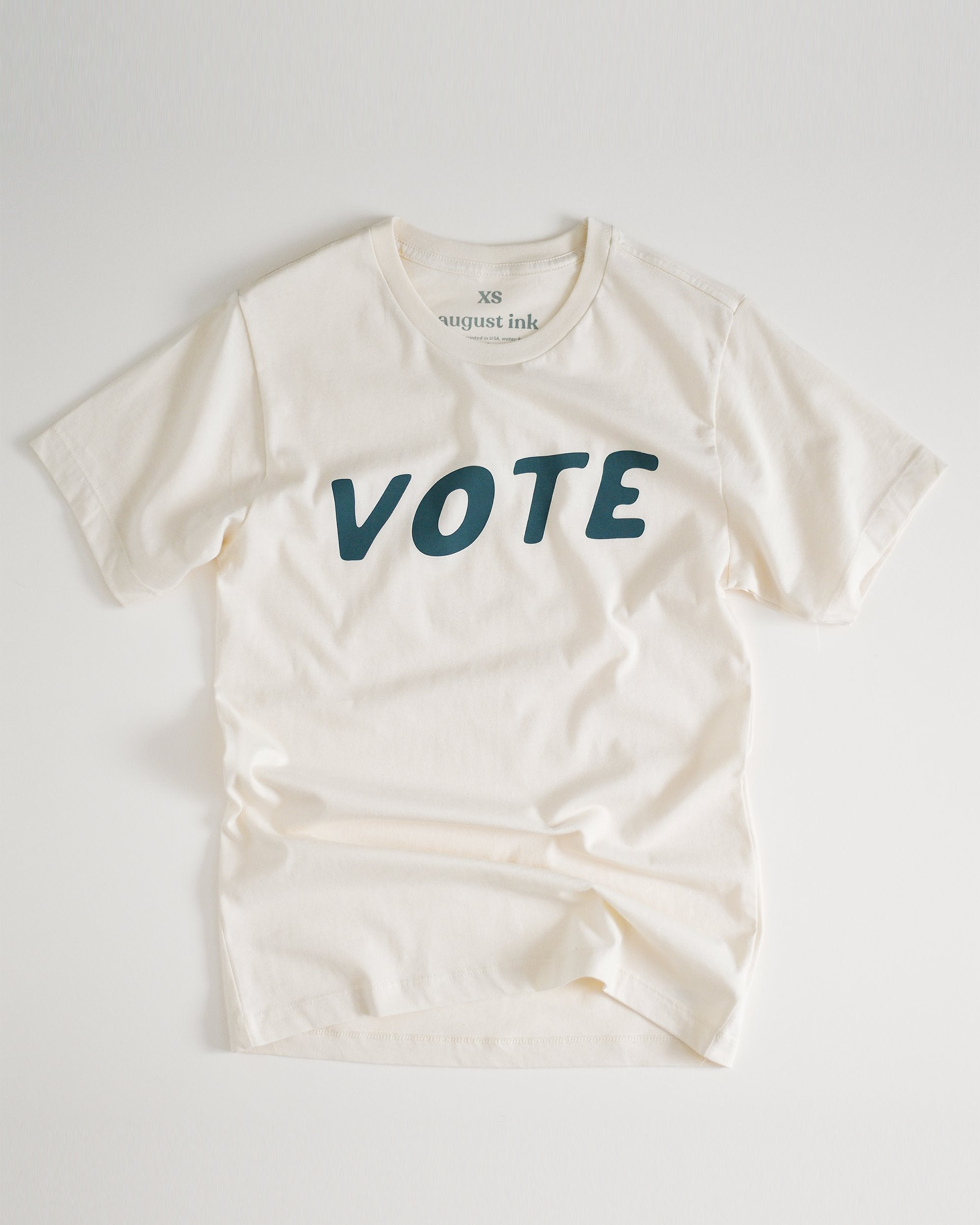 Vote Unisex Tee womens August Ink