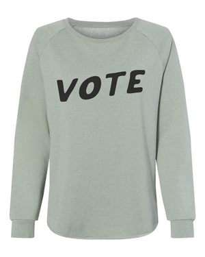 Vote Women's Pullover womens August Ink