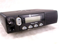 Motorola CM300 UHF 32ch 40w Mobile Radio w/New Accessories
