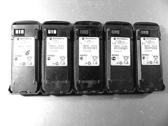 Five Motorola PMMN4077C IMPRES Li-Ion Batteries XPR