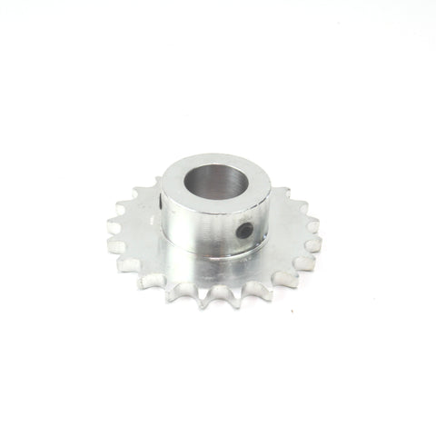 "SPROCKET SIMPLEX 08B 21T 1""BORE"