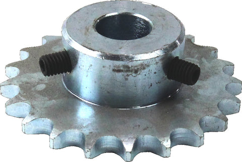SPROCKET SIMPLEX 08B 21T 20mmBORE GRUBS