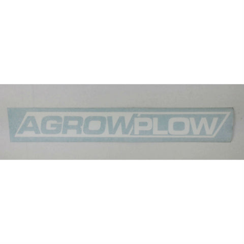 DECAL AGROWPLOW 650x70