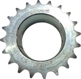 SPROCKET SIMPLEX 08B 20T 50mmBORE MACHINED