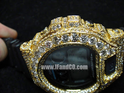 dear jewelers…. 15 carat diamond/gold G-Shock
