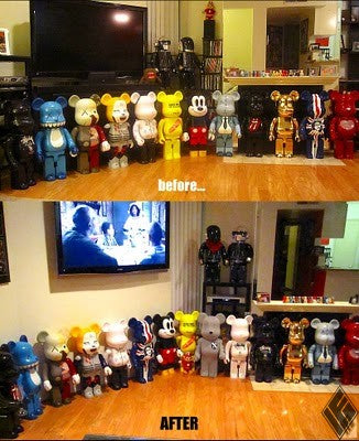 before…. AFTER be@rbricks