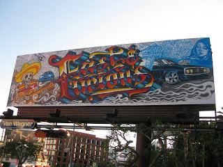 MISTER CARTOON FIRST SUNSET BLVD. BILLBOARDFAST & FURIOUS