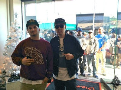 Diamond Supply Co. Store Re-Opening